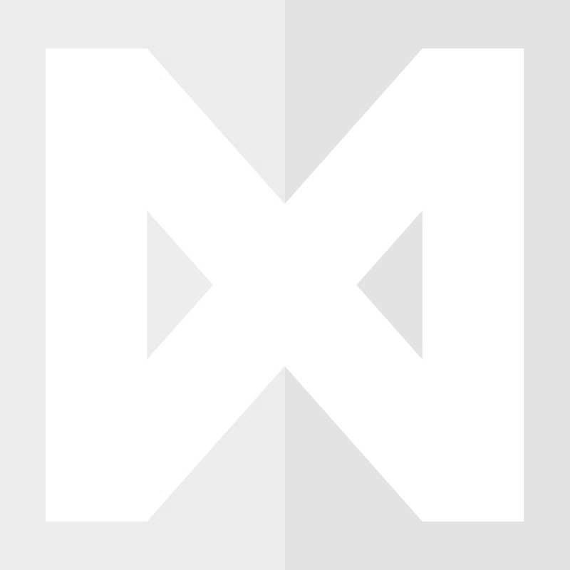 Buiskoppeling Open T-stuk Ø 26,9 mm Zwart Gelakt