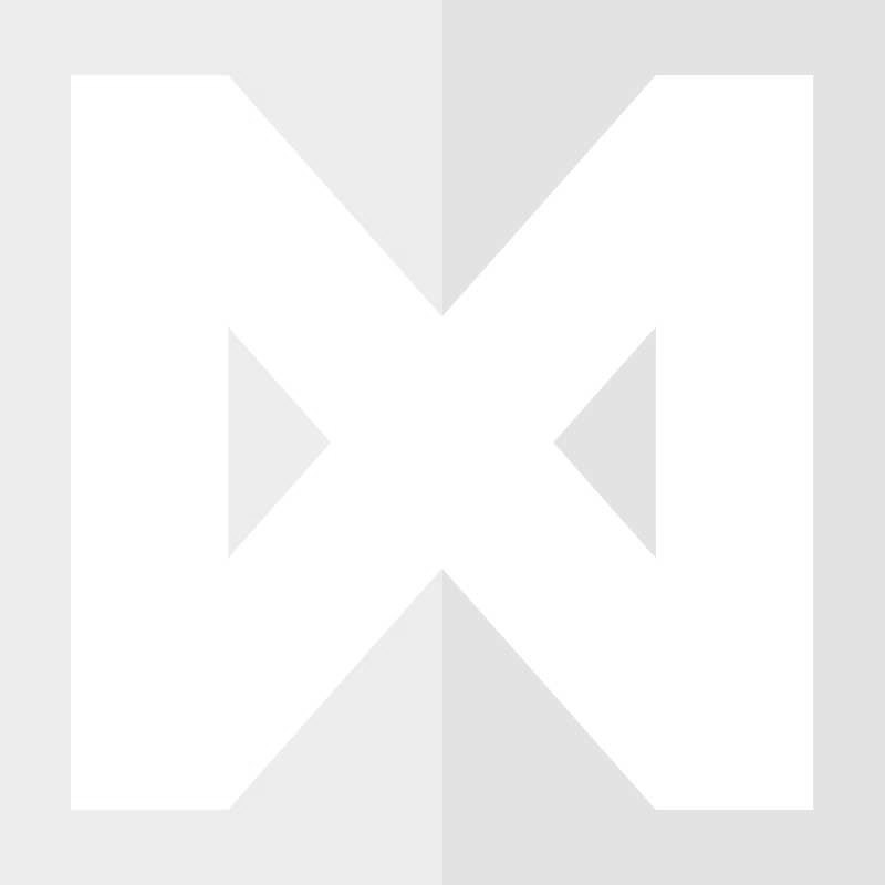 Buiskoppeling Open T-stuk Ø 42,4 mm Zwart Gelakt